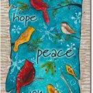 Peace Birds Toland Art Banner