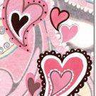 Paisley Hearts Toland Art Banner