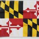 "Maryland - 12""""X18"""" Nylon Flag"