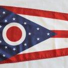 "Ohio - 12""""X18"""" Nylon Flag"