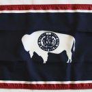 """Wyoming - 12""""""""X18"""""""" Nylon Flag"""