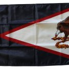 """American Samoa - 12""""""""X18"""""""" Nylon Flag"""