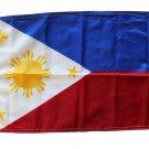 """Philippines - 12""""""""X18"""""""" Nylon Flag"""