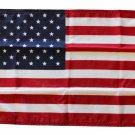 """USA - 12"""""""" x 18"""""""" Nylon Flag (dyed)"""