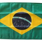 "Brazil - 12""""X18"""" Nylon Flag"