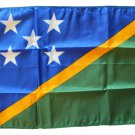 "Solomon Islands - 12""""X18"""" Nylon Flag"