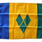 """St. Vincent and the Grenadines - 12""""""""X18"""""""" Nylon Flag"""