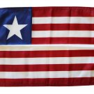 """Liberia - 12""""""""X18"""""""" Nylon Flag"""