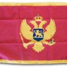 """Montenegro - 12""""""""X18"""""""" Nylon Flag"""