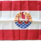 """French Polynesia - 12""""""""X18"""""""" Nylon Flag"""