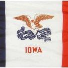 Iowa - 2'X3' Nylon Flag