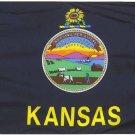 Kansas - 2'X3' Nylon Flag