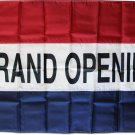 Grand Opening - 3'X5' Nylon Flag (Red/White/Blue)