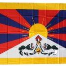 Tibet - 3'X5' Polyester Flag