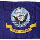 Navy - 3'X5' Polyester Flag