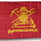 Firefighters - 3'X5' Polyester Flag