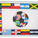Latin American Soccer - 3'X5' Polyester Flag
