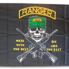 Army Rangers - 3'X5' Polyester Flag