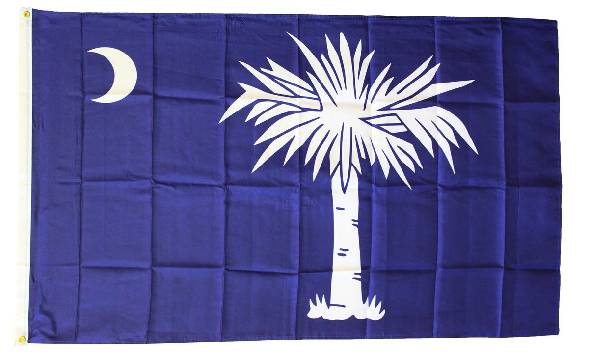 South Carolina - 3'X5' Polyester Flag