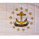 Rhode Island - 3'X5' Polyester Flag