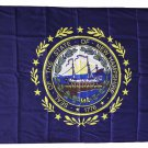 New Hampshire - 3'X5' Polyester Flag