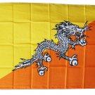 Bhutan - 3'X5' Polyester Flag