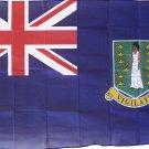 British Virgin Islands - 3'X5' Polyester Flag (Blue)
