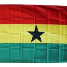 Ghana - 3'X5' Polyester Flag