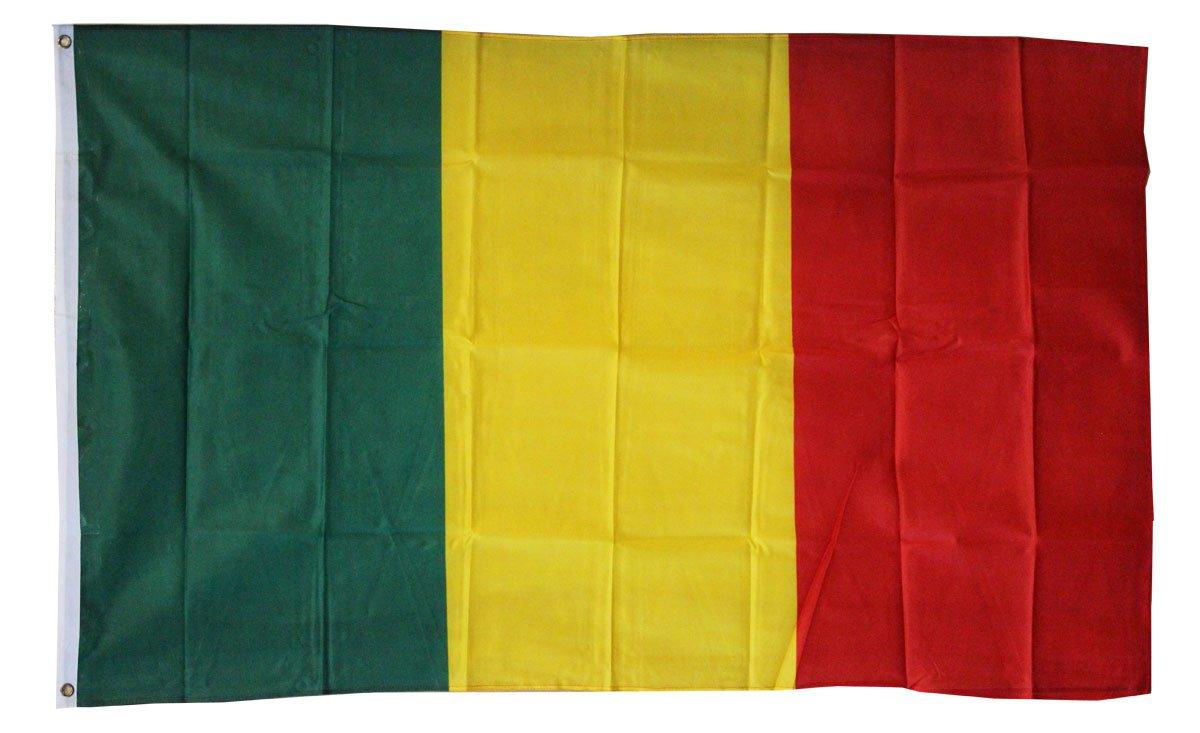 Mali - 3'X5' Polyester Flag