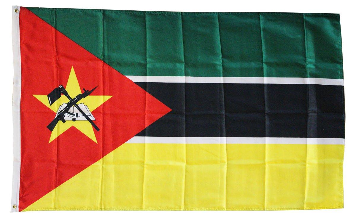 Mozambique - 3'X5' Polyester Flag