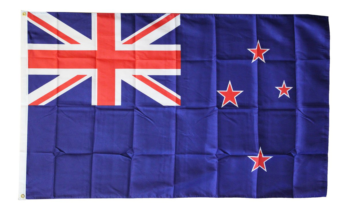 New Zealand - 3'X5' Polyester Flag