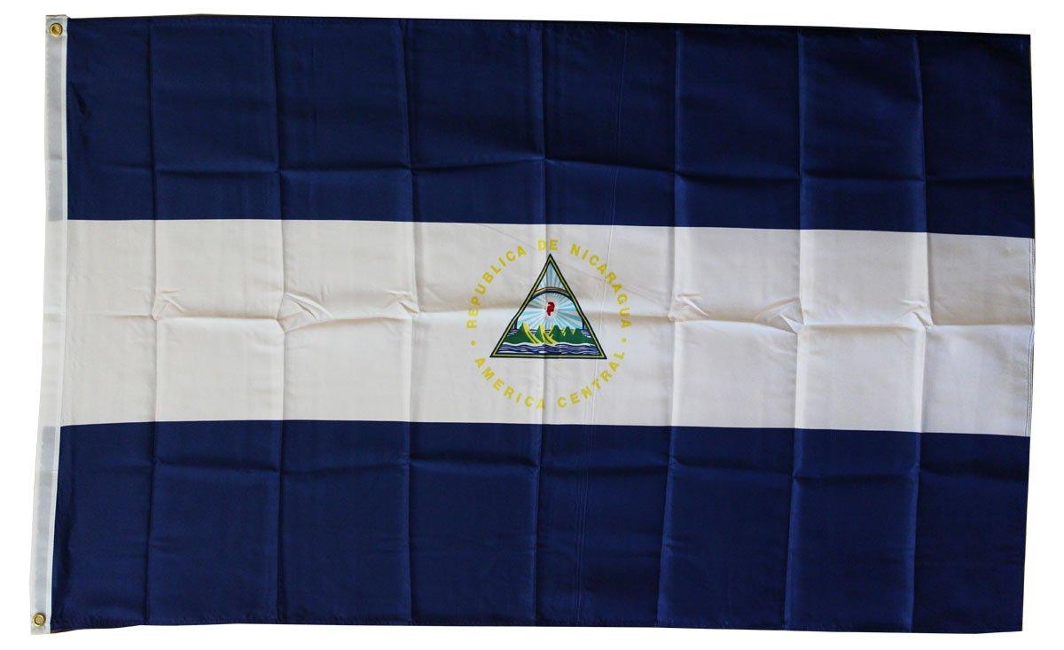 Nicaragua - 3'X5' Polyester Flag (State)