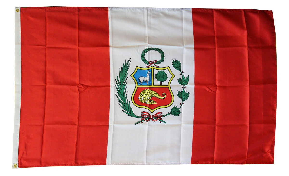 Peru - 3'X5' Polyester Flag (State)