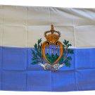 San Marino - 3'X5' Polyester Flag (State)