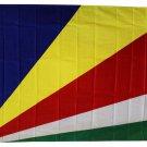 Seychelles - 3'X5' Polyester Flag