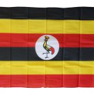 Uganda - 3'X5' Polyester Flag