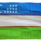 Uzbekistan - 3'X5' Polyester Flag