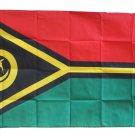 Vanuatu - 3'X5' Polyester Flag