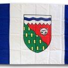 Northwest Territories - 3'X5' Polyester Flag