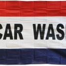 Car Wash - 3'X5' Polyester Flag