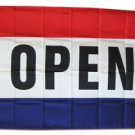 Open - 3'X5' Polyester Flag