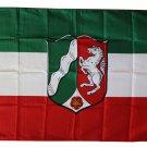 North Rhine-Westphalia - 3'X5' Polyester Flag
