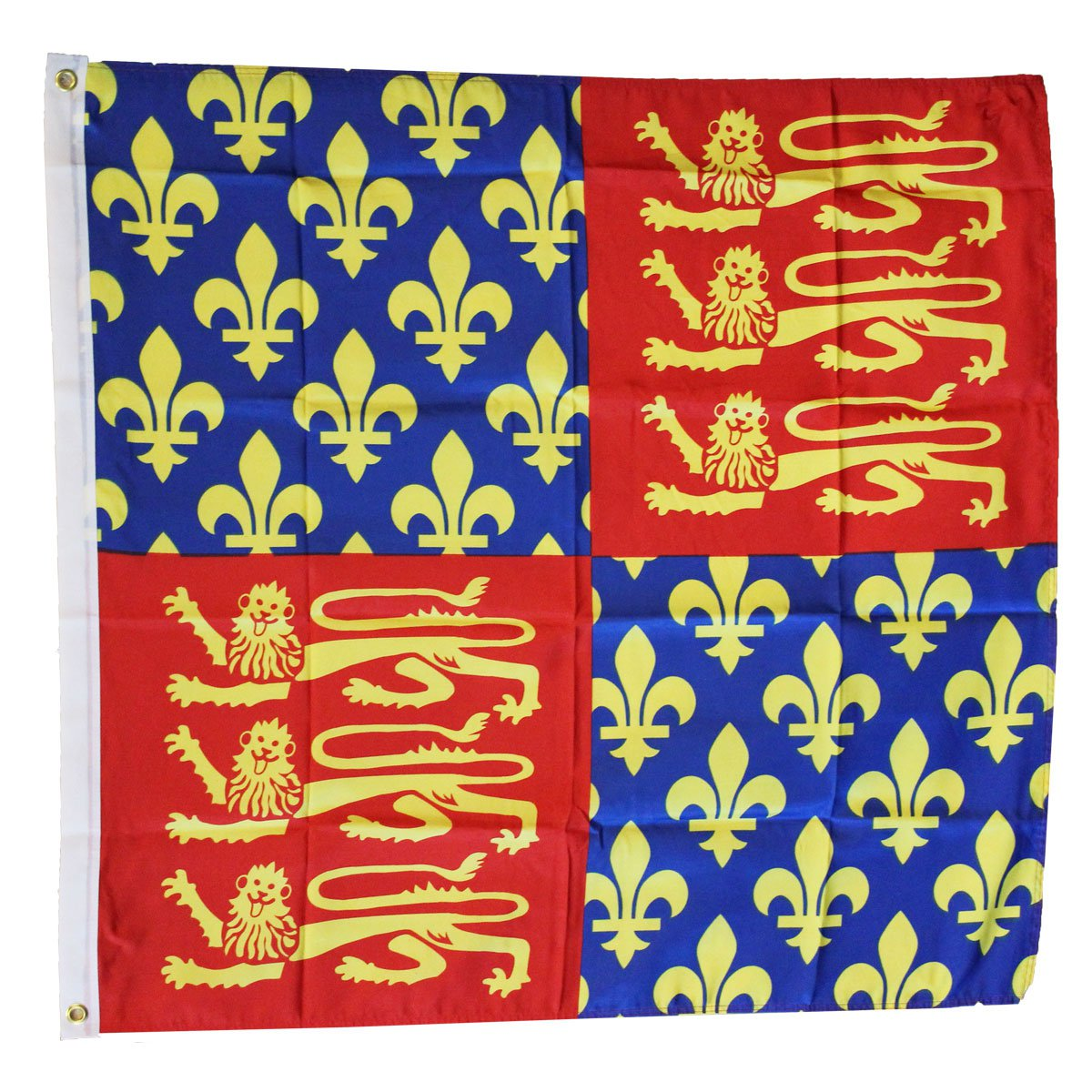 King Edward III - 3'X3' Polyester Flag