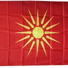 Macedonia, Republic of - 3'X5' Polyester Flag (old)