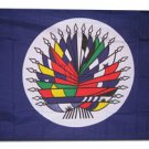 Organization of American States (OAS) - 3'X5'  Polyester Flag