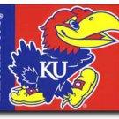 University of Kansas - 3' x 5'  Polyester Flag