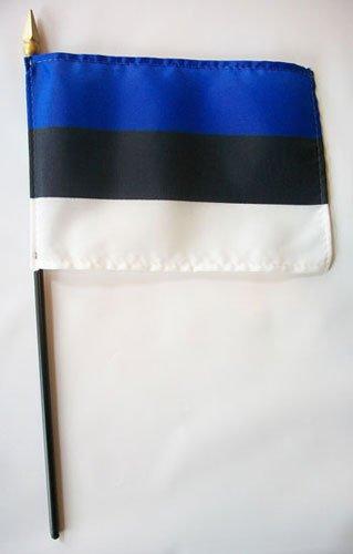 "Estonia - 4""""X6"""" Stick Flag"