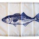 "Blue Fish - 12""""x18"""" Nylon Flag"