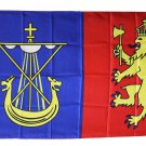 Orkney Islands - 3'x5' Polyester Flag (Unofficial Banner of Arms)