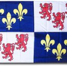 Picardy (Picardie) - 3'X5' Polyester Flag
